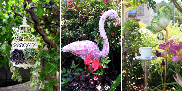 24 Lovely Homemade Garden Decorations You Didn't Know About