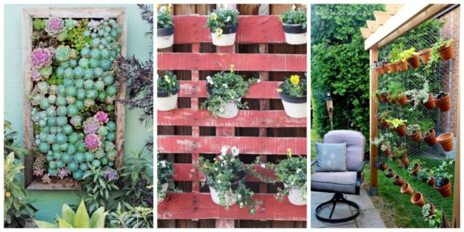 25 Unique Ways to Plant a Vertical Garden