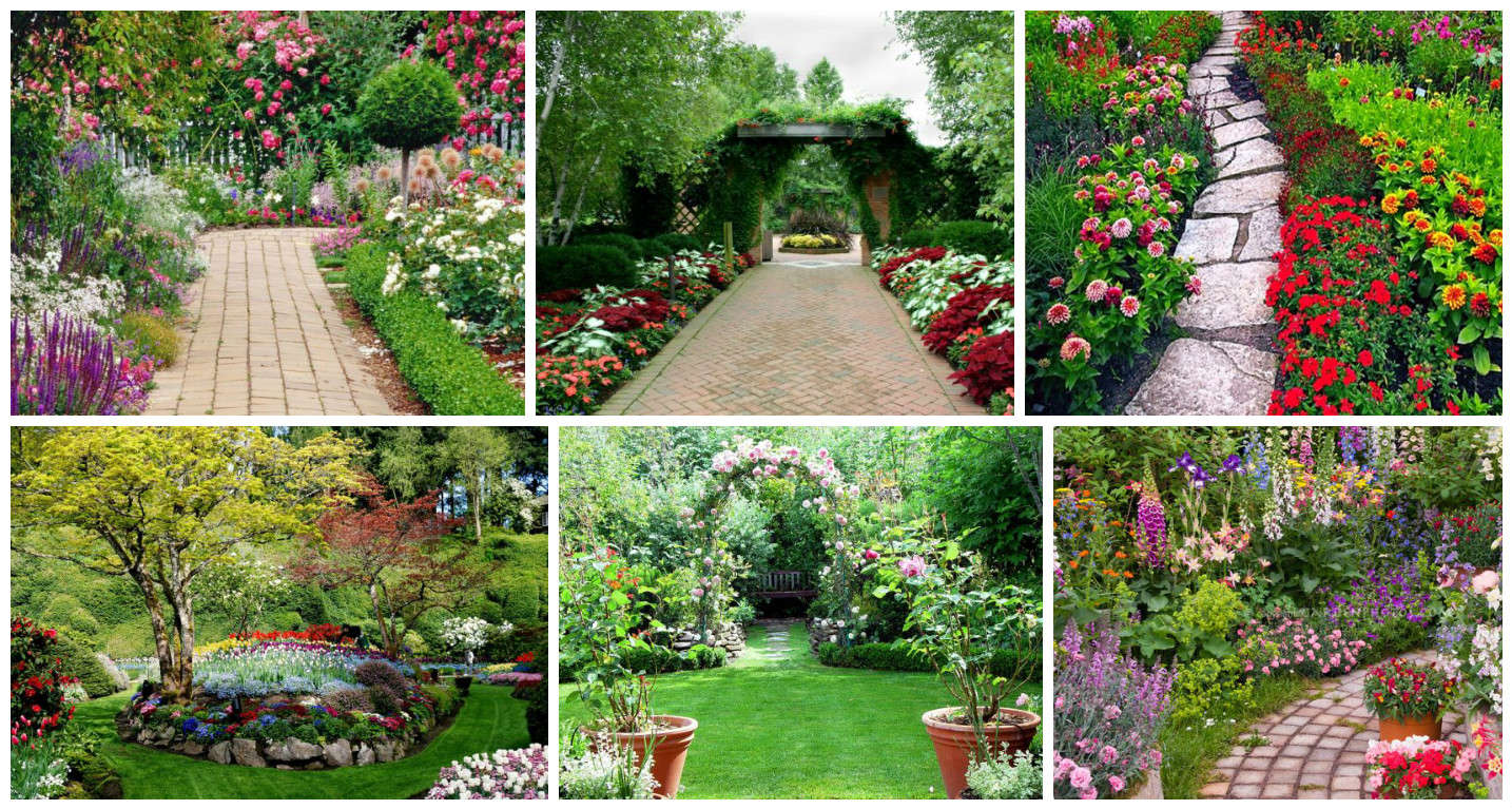 These 14 Flower Pathway Are Amazing