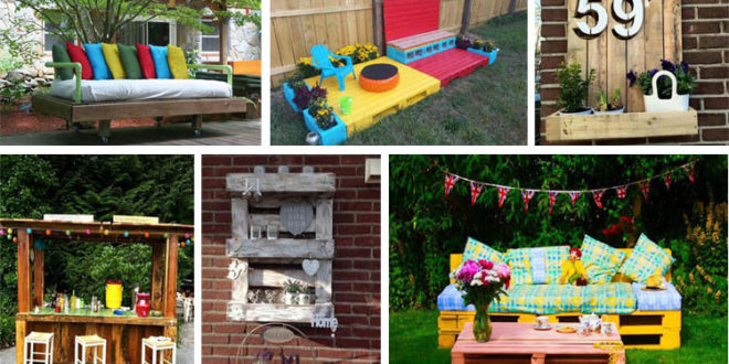 16 Fascinating Outdoor Pallet Projects for All DIY Lovers