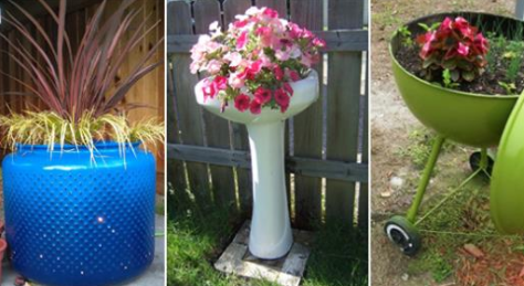 20 Incredible Ideas for Creative Gardening Using Containers You Never Thought of