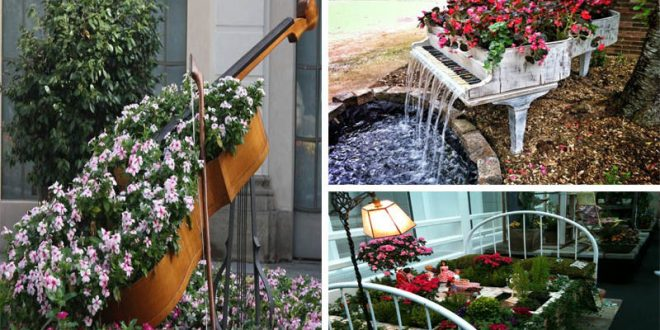 20 Creative Ideas To Make Fairytale Garden With Old Furniture