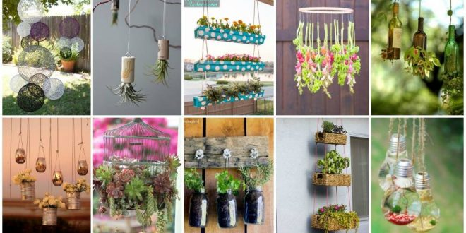Awesome DIY Hanging Decorations For Your Garden That Will Amaze You