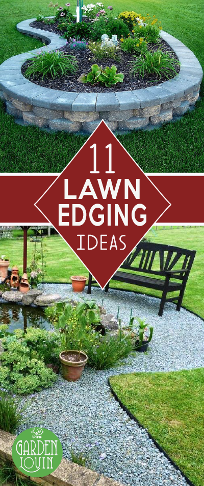 11 Stunning Lawn Edging Ideas That Will Take Your Breath