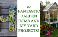 20 FANTASTIC GARDEN IDEAS AND DIY YARD PROJECTS!