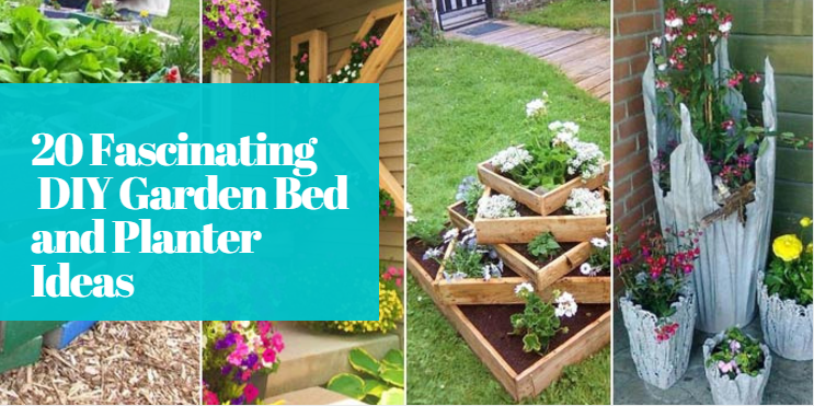 20 Fascinating DIY Garden Bed and Planter Ideas