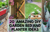 20 Amazing DIY Garden Bed and Planter Ideas