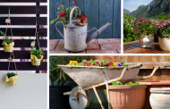 15 Fresh, Fun, and Creative Patio Planter Ideas