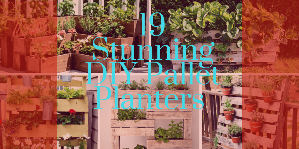 19 Stunning DIY Pallet Planter Ideas