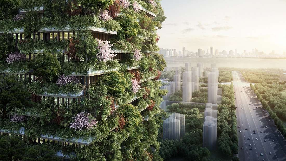 China To Get Vertical Gardens In 2018 To Help Tackle Pollution