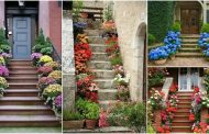 These Breathtaking Stair Flowers Will Make Your Guest Speechless
