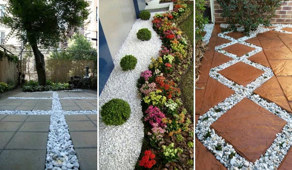 20 amazing white gravel decorative ideas that will take your breath