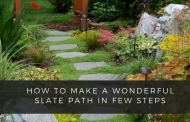 How To Make A Wonderful Slate Path In Few Steps