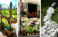 20 Unique and Creative Garden Ideas You Never Thought Of