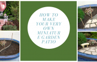 How To Make Your Very Own Miniature Garden Patio