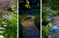 20 Amazing Ideas For Stone Pathways In Your Garden