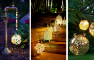 22 Original Ideas Adding DIY Backyard Lighting Your Garden