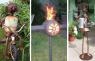 20 Incredible DIY Ideas For Outdoor Rusted Metal Projects