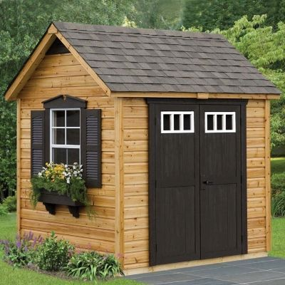 Wooden Small Garden Shed