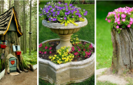 15 Ideas For Decorating Your Garden