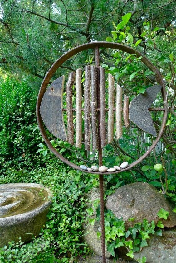 garden art metal