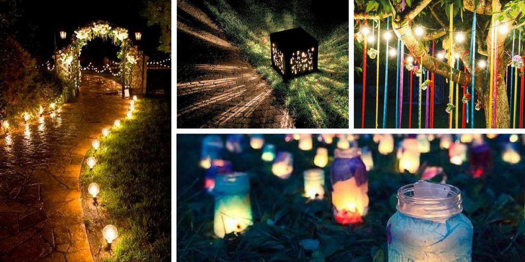 7 Smart And Easy Diy Outdoor Lighting