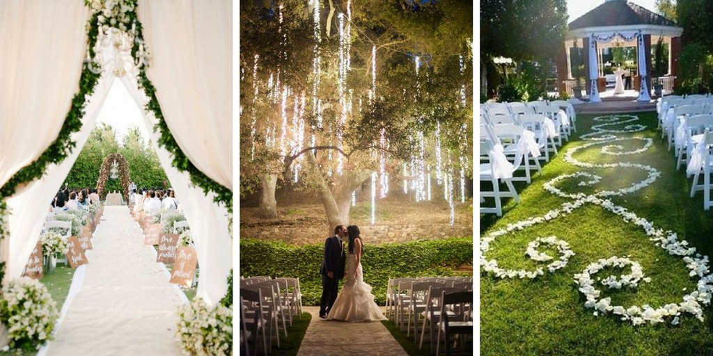 24 Most Creative Garden Ideas For Weddings