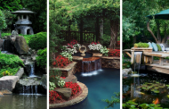 25 Stunning Backyard Ponds And Waterfalls Garden Ideas