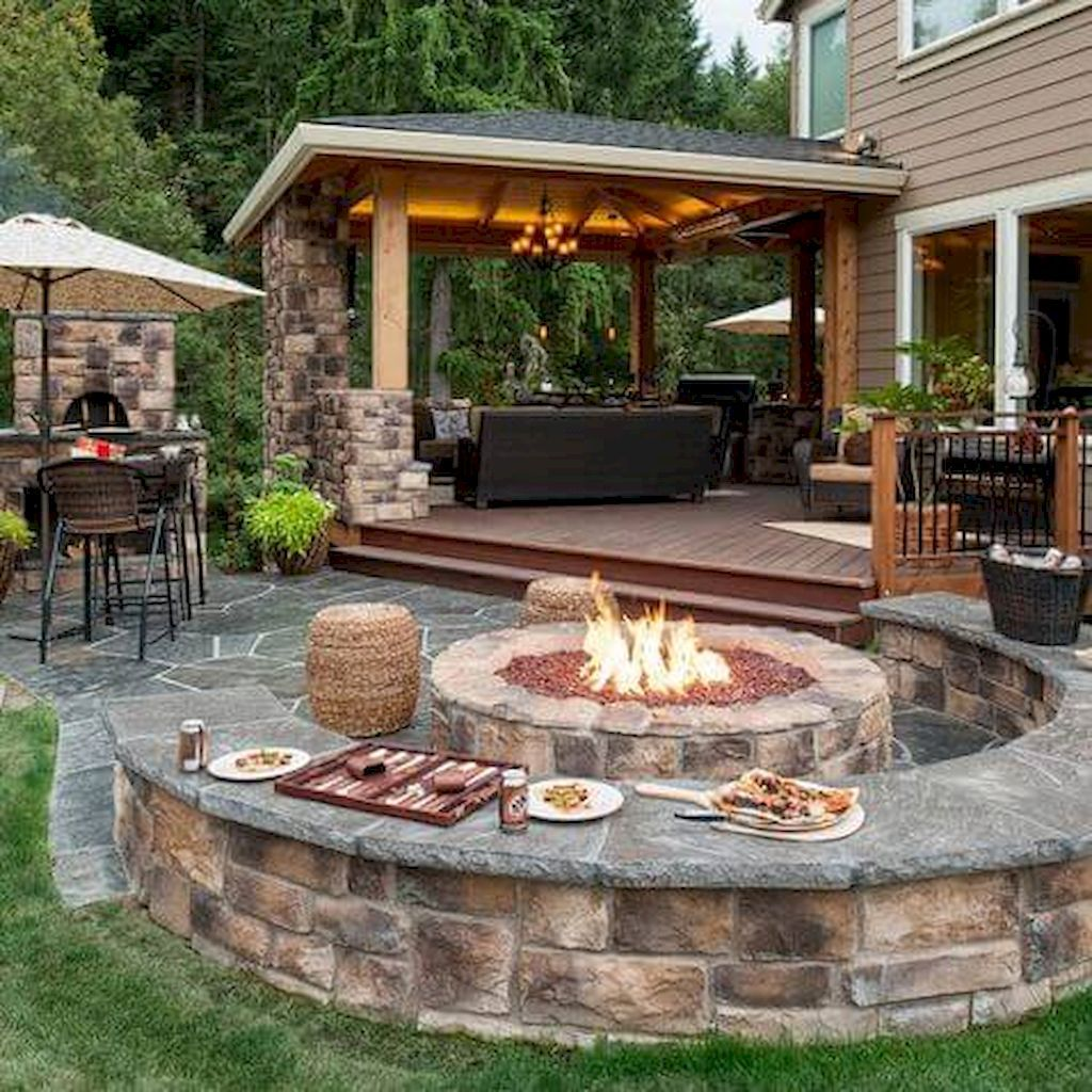 20 Affordable And Beautiful Diy Backyard Seating Area Ideas