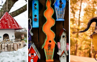 25 Decorative Birdhouses That Will Fill Your Garden With Birds