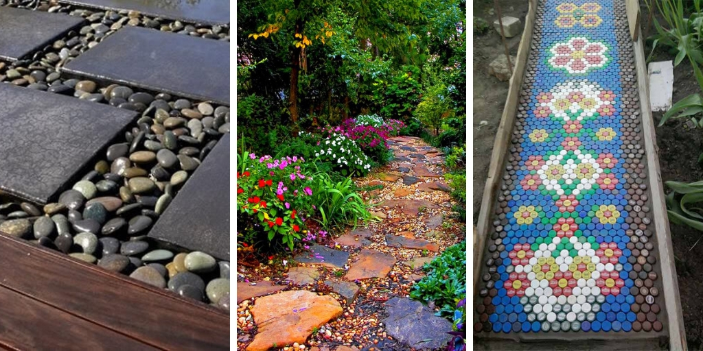 18 Easy Walkway Ideas for Your Garden