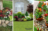 18 BEAUTIFUL FLOWER IN FRONT OF HOUSE DESIGN IDEAS