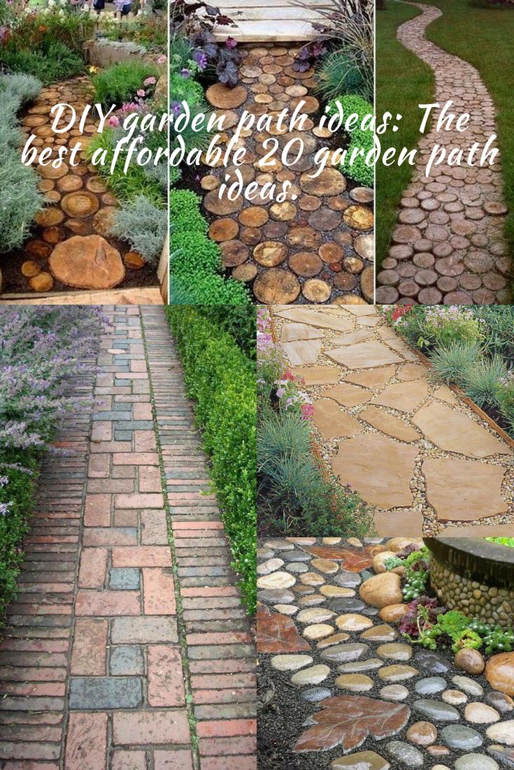 DIY garden path ideas: The best affordable 20 garden path ... on Patio And Path Ideas id=82525