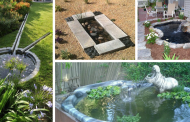 Backyard pond ideas: A list of the most beautiful easy doing pond ideas.