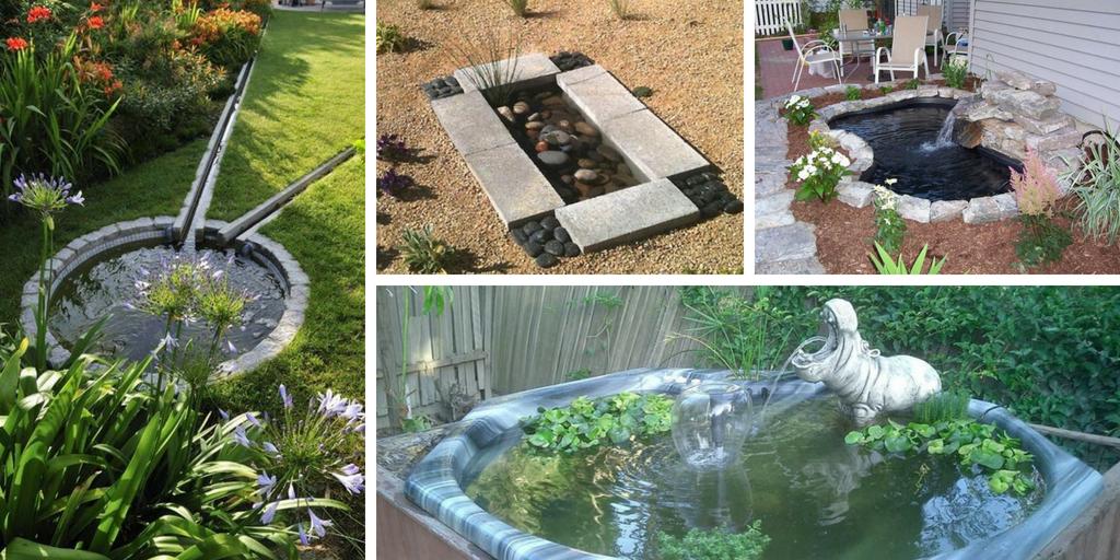 Backyard Ponds Ideas backyard pond ideas: a list of the most beautiful easy doing pond ideas.