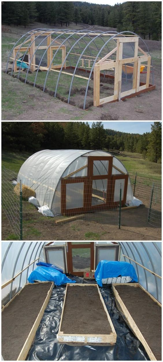 how to build a cheap and easy greenhouse