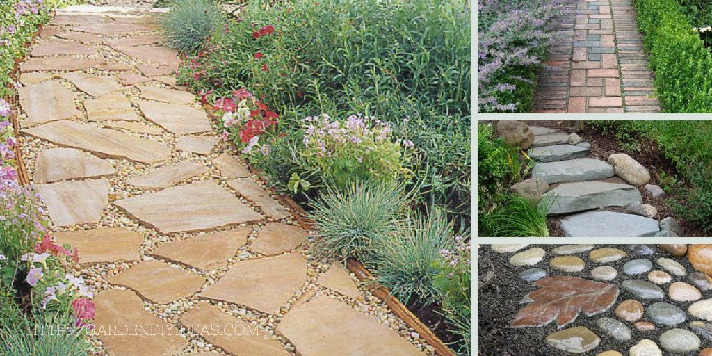 diy garden path ideas the best affordable 20 garden path ideas - Garden Path Ideas
