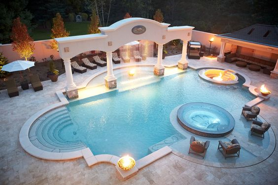 20 Beautiful Swimming Pool Designs That Will Definitely Amaze You