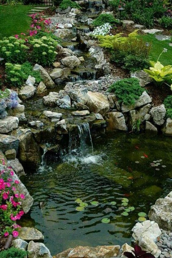 In This Post, We Will Display 19 Wonderful Backyard And Garden Pond Designs  And Ideas That Will Help You Ameliorate The Look Of Your Garden Or Backyard.