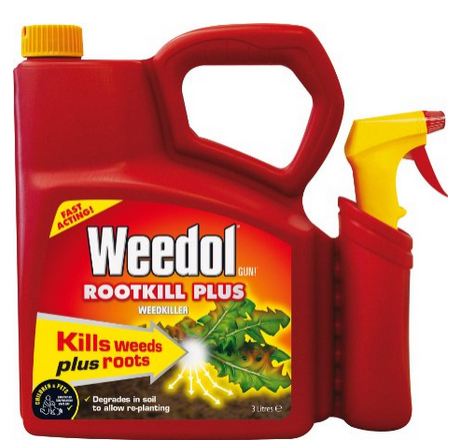 vegetable oil to kill weeds