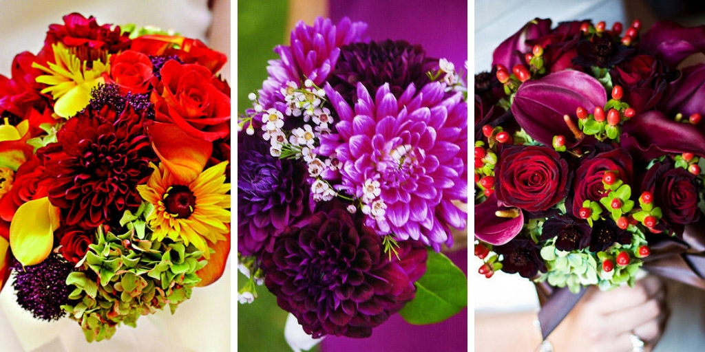 15 Fabulous Bouquets For beautiful Fall Weddings