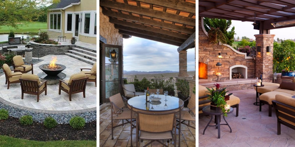 15 ornamental patio designs that are simply astonishing