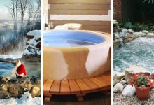 18 beautiful and creative DIY Hot Tub ideas that are affordable