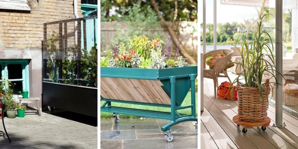 22 attractive DIY mobile garden ideas for both indoors and outdoors