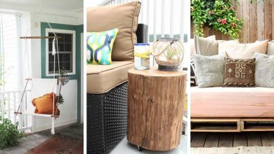 DIY furniture ideas that will completely transform your patio