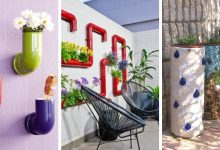 16 wonderful DIY PVC Pipe Planters to create a decorative garden