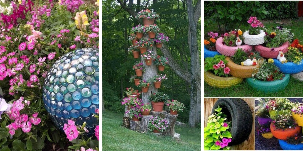 18 Decorative DIY ideas That will make your garden look fabulous