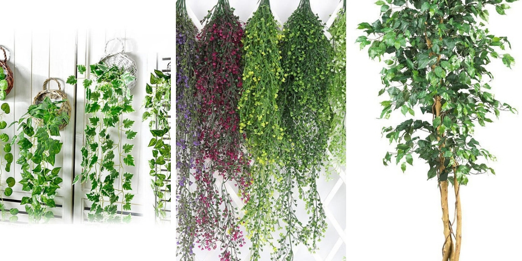 18 Ornamental Artificial Houseplants That Look Almost Real