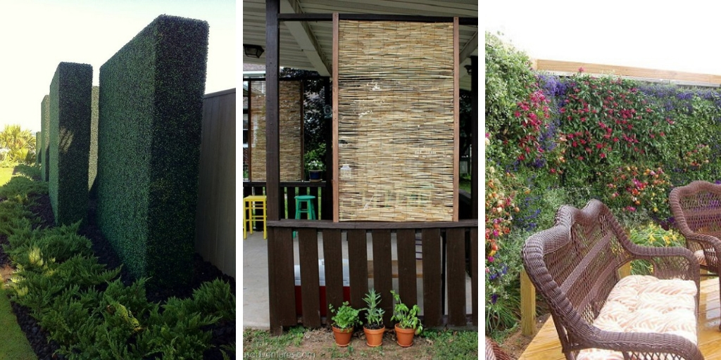 26 attractive yet inexpensive DIY garden privacy ideas