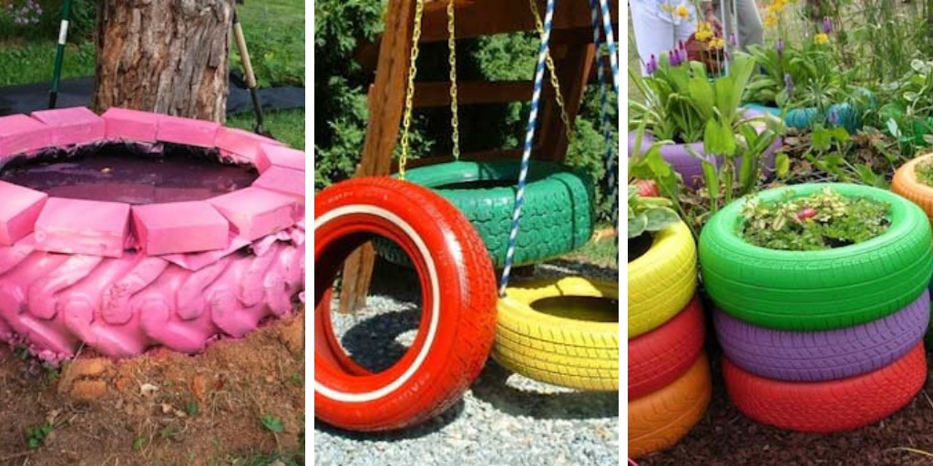 8 DIY tire garden ideas that are worth looking at